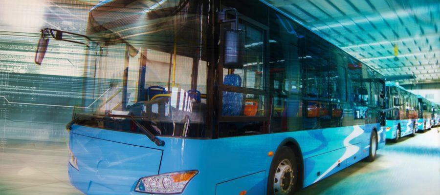 движение автобуса