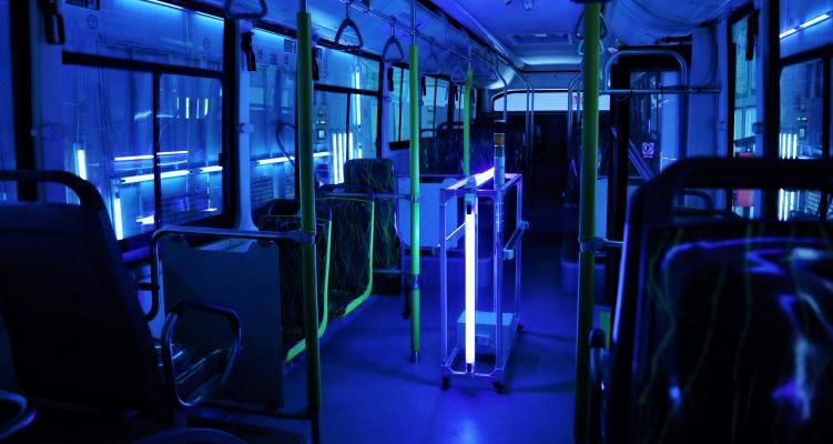 освещение автобуса